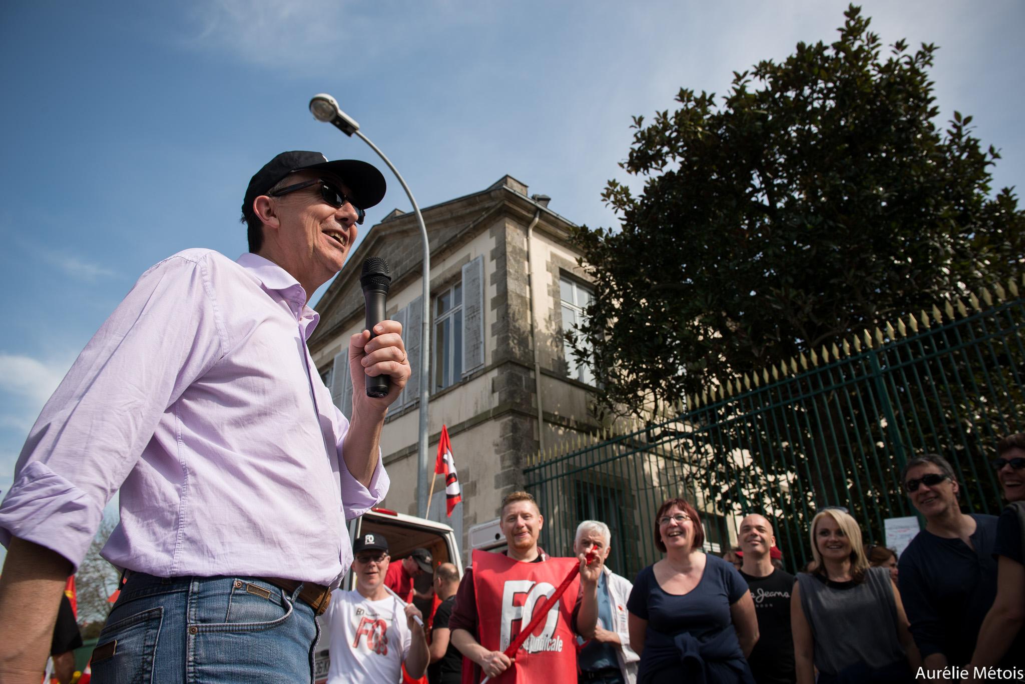 Manifestation contre austérité